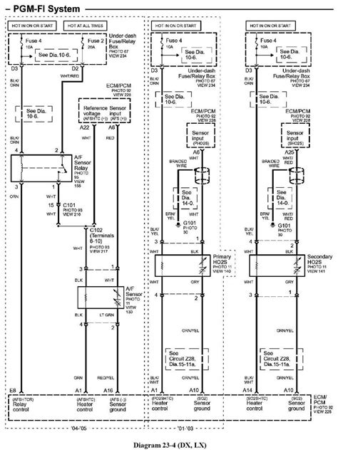 2004 Honda Civic Speaker Wiring Diagram by 2002 Honda Civic Dx Got Ex Engine Am Stuck On