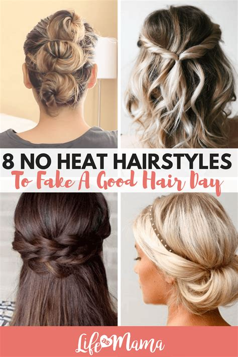 No Heat Hairstyles For Hair by 8 No Heat Hairstyles To A Hair Day