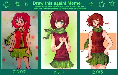 draw it again template draw again meme by thiefofstarz on deviantart