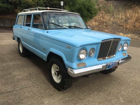 jeep kaiser wagoneer chevy ford kaiser mix up 1965 jeep wagoneer driving