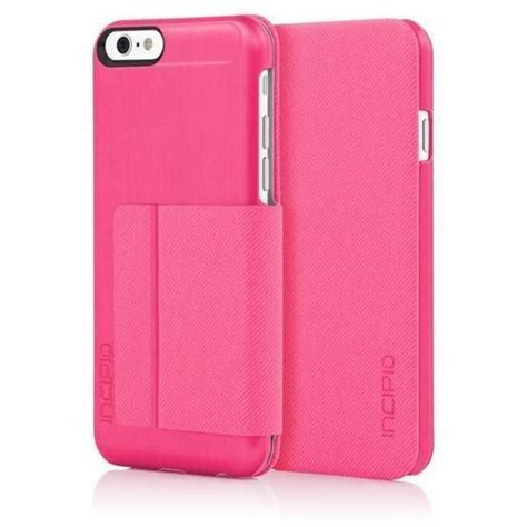 Not only will it prevent bumps and scratches, but it will also display a beautiful design of your choosing. Incipio iPhone 6/6S Highland Case - Pink / Pink - MyPhoneCase.com