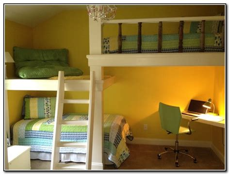 beds that have a desk underneath kids bunk beds with desk underneath beds home design