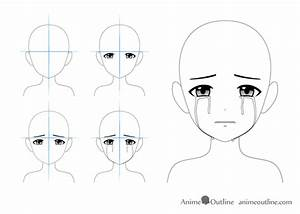 Crying Anime Drawing | www.pixshark.com - Images Galleries ...