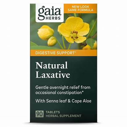 Laxative Natural Gaia Herbs Tabs Digestive Support
