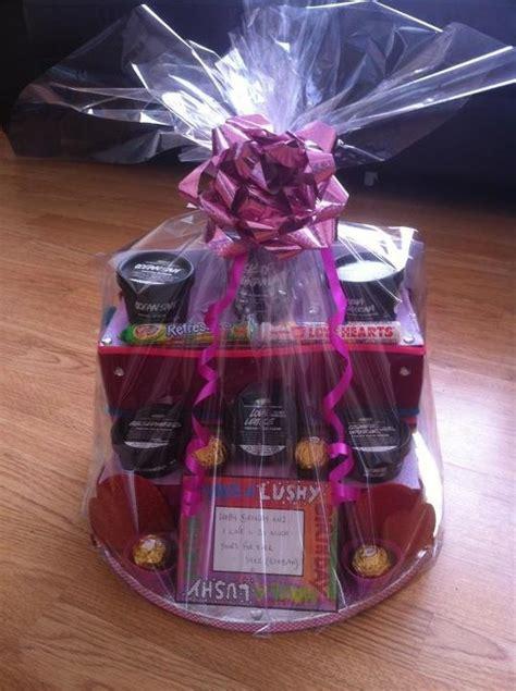birthday hamper  lush products love lush pinterest