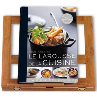 fnac livre cuisine le larousse de la cuisine 1400 recettes broché