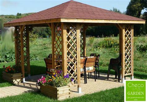 garden wooden gazebo 3m x 3m external 12 ft x 12 ft garden wooden pavilion