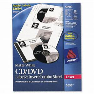 avery cd dvd jewel case laser label insert combo sheets With cd labels and inserts