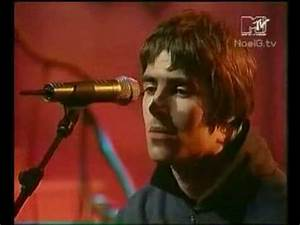 Oasis - Live Forever - Live Acoustic Performance - YouTube