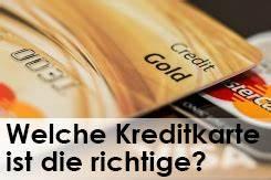 Kreditkarte Ohne Postident : welche kreditkarte ist die richtige f r mich welche bank ~ Lizthompson.info Haus und Dekorationen