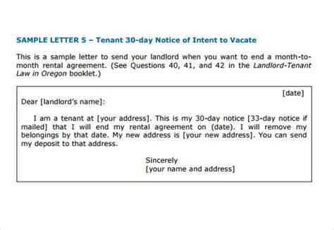 Letter Of Intent For Rental Property Sample