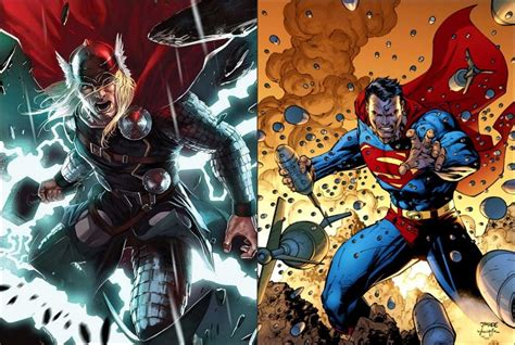 thor superman who 39 s powers abilities would you rather
