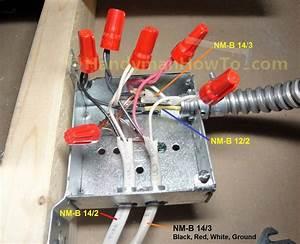 Wiring Ceiling Fan Junction Box