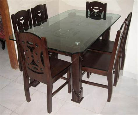 modern dining table solid mdf wood furniture