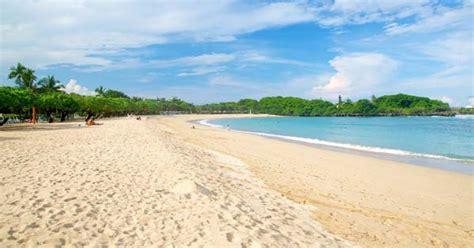 pantai nusa dua bali pantai terbersih  bali gratis