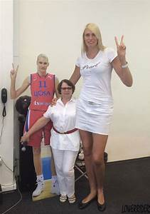 15 Tallest Giant Women in The World 2016 | Reckon Talk