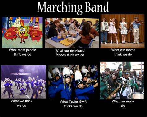 Marching Band Memes - drumline miraclebright