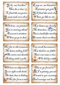 Halloween Treasure Hunt Riddles Adults by This Week We Ve Put Together Two Sets Of Rhyming Clues For