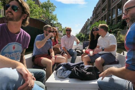 The Boat Guys Amsterdam by Things To Do In Amsterdam Take A Small Boat Canal Cruise