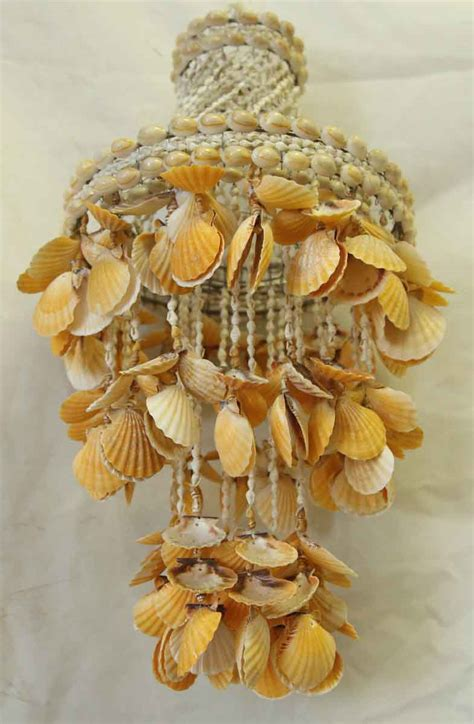 hanging shells decoration vintage shell hanging decor olde things