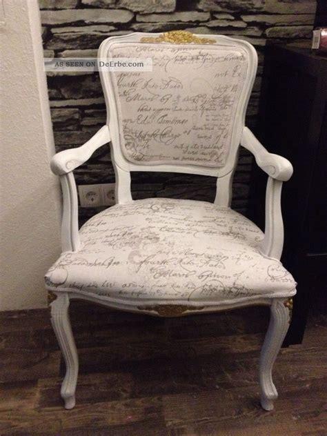 stuhl shabby chic stuhl sessel chair barock rokoko chippendale shabby chic design rar uni 1v4