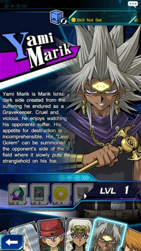 yami marik deck yugioh duel links selection page yami marik yugioh duel links gamea