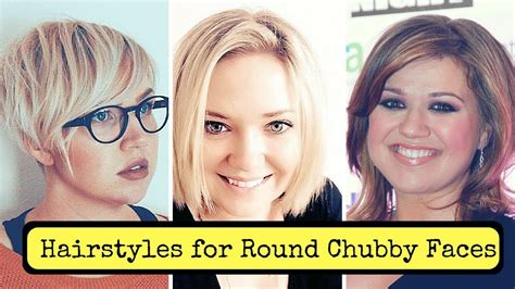 Hairstyles For Round Chubby Faces Women (2018)