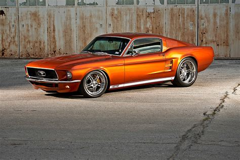 wide ride a custom 1967 widebody mustang fastback
