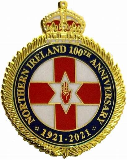Badge Ireland Northern Anniversary 100th Jayda Freedom