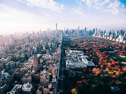 Central Park York Background Fall Wallpapers Usa