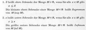 Supremum Berechnen : anordnungseigenschaften der reellen zahlen umfang kreis ~ Themetempest.com Abrechnung