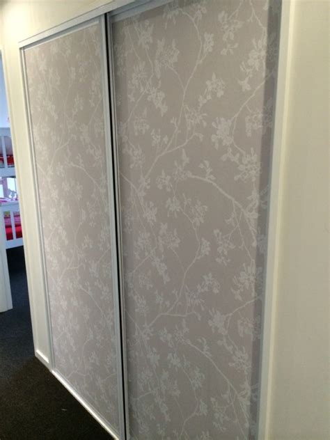 Wallpaper For Cupboard Doors by 25 Photos Hallway Cupboard Doors Cupboard Ideas
