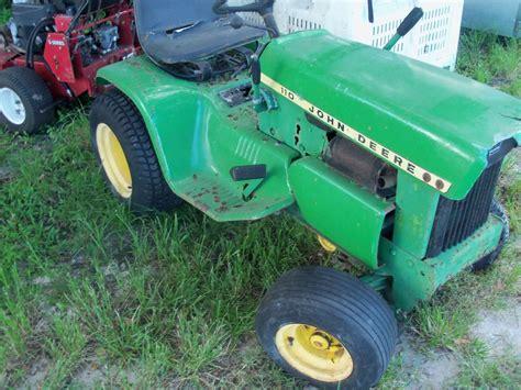 deere 110 lawn tractor collectors item ebay