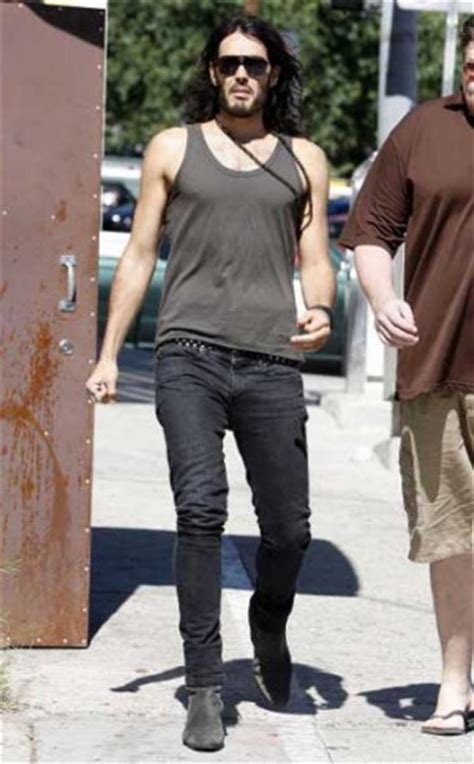russell brand jeans skinny jeans on men a big problem