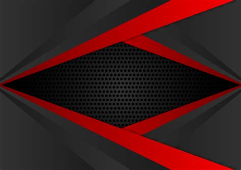 vector red  black color geometric abstract background