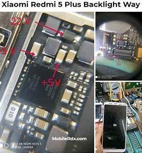 Xiaomi Redmi 5 Plus Backlight Way Lcd Light Solution In