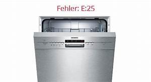Siemens Spülmaschine Symbole : siemens sp lmaschine fehler e25 bedeutung bestepraxistipps ~ Eleganceandgraceweddings.com Haus und Dekorationen