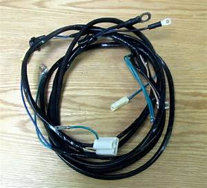 1957 Chevy Starter Wire Harness 6 Cyl Manual Transmission