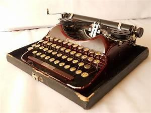 Antique Corona Typewriter  Vintage Manual Portable