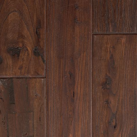 elm hardwood shop mohawk montefino 5 in antique elm walnut elm hardwood flooring 19 69 sq ft at lowes com