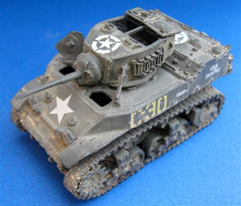 Weathering Small Scale Tank Models With Pastel Chalks