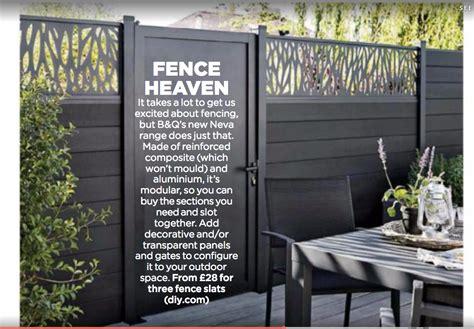 bq neva fence system garden ideas bq garden gates  garden