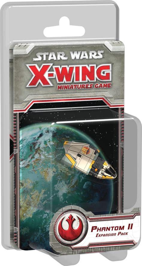 Juega gratis a este juego de 2 jugadores y demuestra lo que vales. Star Wars: X-Wing - Fantasma II ~ Juego de mesa • Ludonauta.es