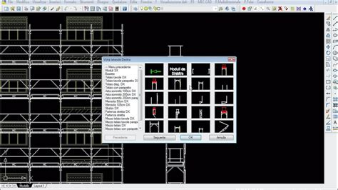 Demo P3 Scaffolding Design Sw In Cad 2d 2010 Youtube