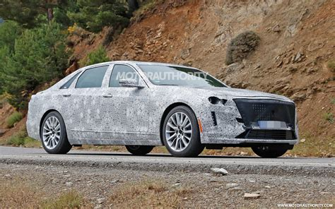 2019 Cadillac Ct6 Spy Shots  News About Cool Cars