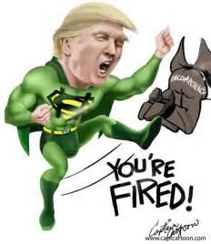 Cartoons of Donald Trump as President