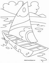 Coloring Yacht Pages Transport Boat Drawing Rickshaw Auto Sheets Easy Bestcoloringpages Colour Craft Printable Books Air Sky Transportation Ocean Side sketch template