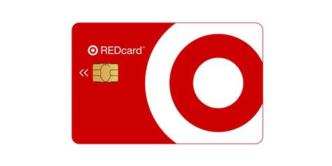 Target red card sign on. REDcard : Target
