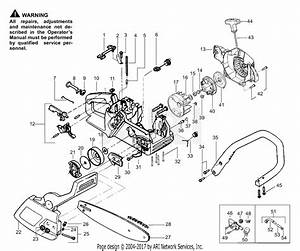 Poulan 1900 Gas Saw  Patriot 1900 Parts Diagram For Handle