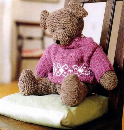 comment faire un pouf en tricot comment tricoter un nounours nos conseils